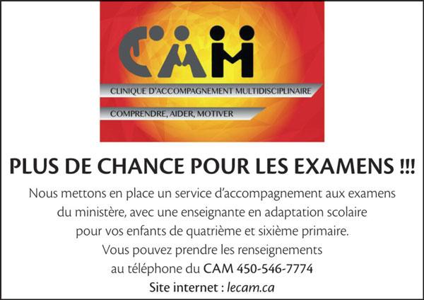 Aide aux examens du ministère